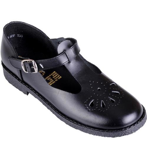 Bata Toughees Girl's Tear Drop School Shoe